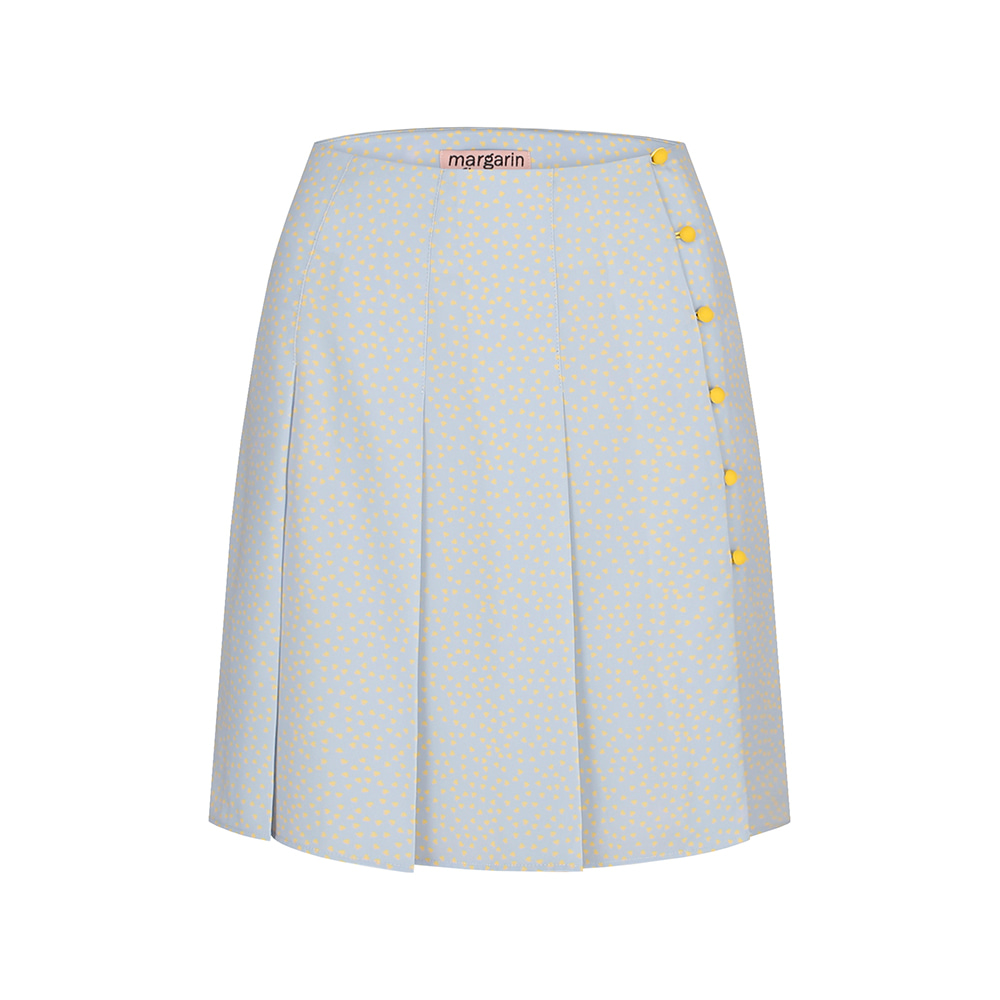 heart pleats skirt (lb)