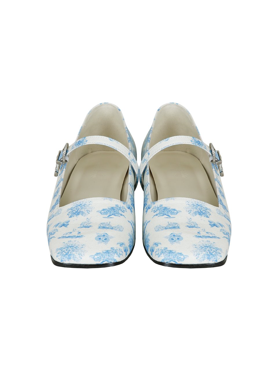[주문제작] toile flat shoes