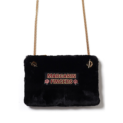 fur cross body bag